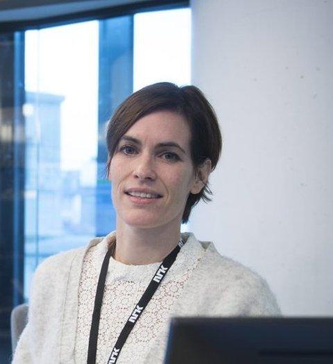 NRK vestland sin nye redaktør er Dyveke Buanes når de to distriktskontorene blir til ett fra 2020. arkivFoto: BA