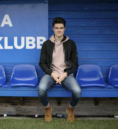 Kristian Skjørli Ree er en lokal spiller som bor i gåavstand fra Straume idrettspark. Han signerte rett før jul. ARKIVFOTO: Bernt-Erik Haaland