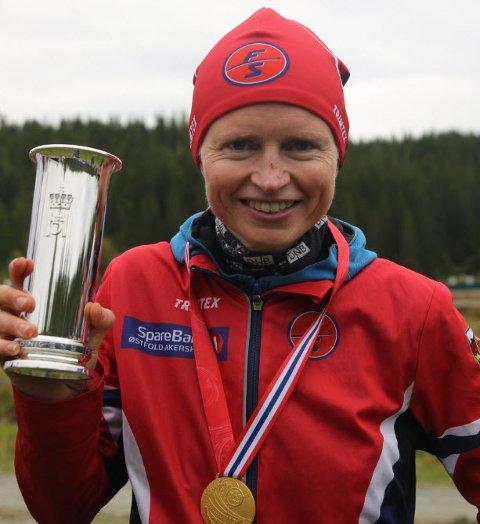 UTROLIGE MERITTER: Marianne Andersen fra Fredrikstad SK ble igjen kongepokalvinner.