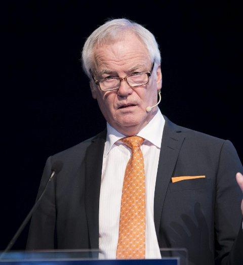 På nippet: Johan Rokstad er i ettertid veldig glad for at han ikke stilte som ordførerkandidat.Arkivfoto: Einar Tho