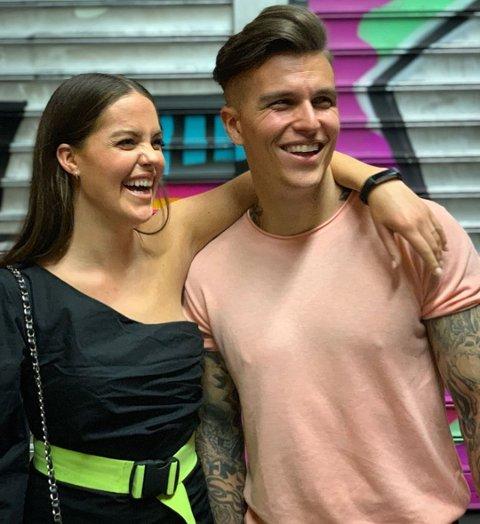 KOSELIG NYHET: Cathrine Eide og Atle Pettersen delte den hyggelige nyheten torsdag. (Arkivfoto)