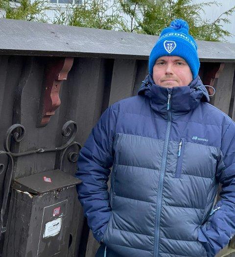 Kenneth Olsen fra Hafslundsøy har blitt frastjålet Morgenlevering to ganger.