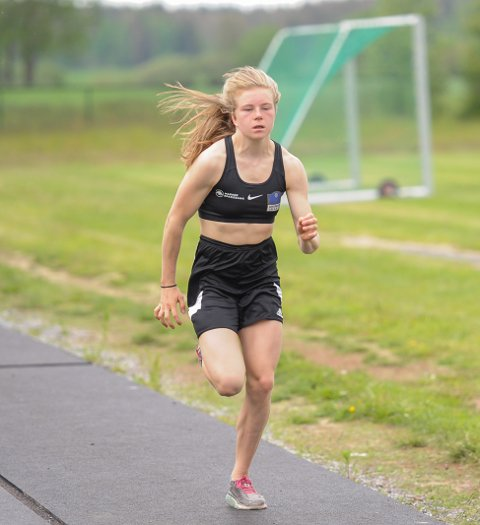Henriette Jæger vant fire gull under Världsungdomsspelen i Göteborg.