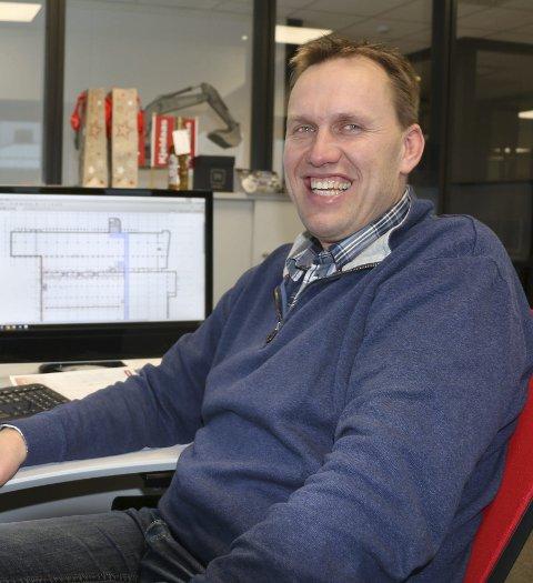 Vil hele tiden bli bedre: Thor Ambjørn Kjeldaas jobber hele tiden for at Kjeldaas AS skal være et attraktivt sted å jobbe. i 2018 passerte bedriften en omsetning på 400 millioner kroner.