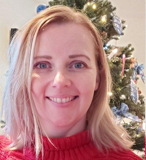 """Åse Andreassen fra Gi en jul Sola må høre """"Last Christmas""""."""