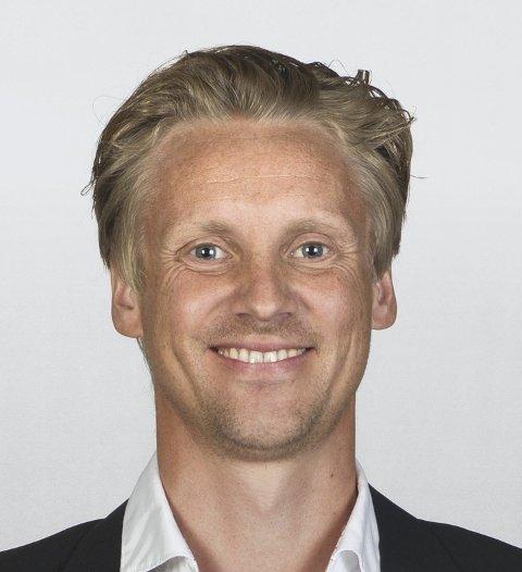 VIL VÆRE INNOVATIVE: Christian Fjestad er leder for innovasjon i Sparebank 1 Østlandet og mener at eksporten av appen til Japan beviser at de er langt framme teknologisk.