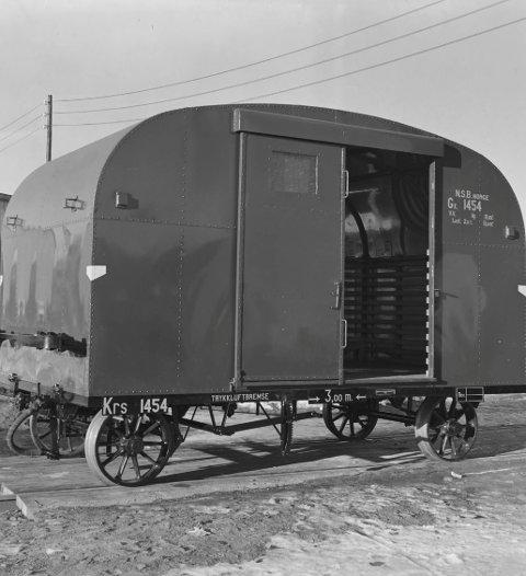 Gode, gamle minner. I dagens Direkte linje handler det om en godsvogn fra Høka.