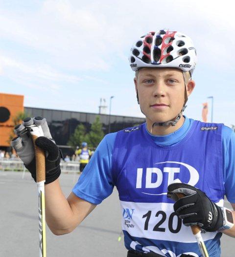 Lovende: Dyrdahl er en av kommunens største langrennstalenter. 14-åringen har ambisjoner i Hovedlandsrennet.