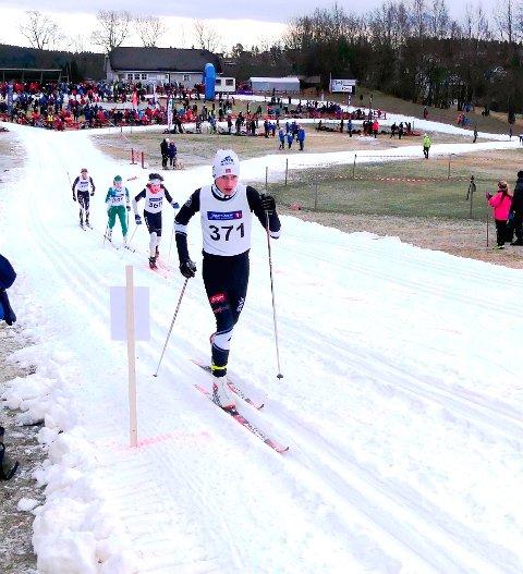 Sondre Martinsen vant G14-klassen i Onsdagsrennet 1.februar
