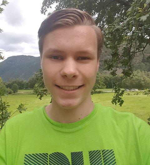 Det er ikkje helg før Egil Natvik Vestrheim (16) seier at det er det.