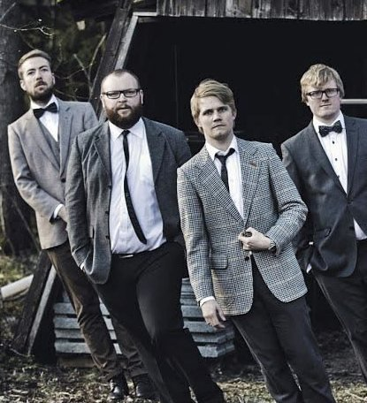 Plateslipp: Bandet Baker Hansen spiller plateslippkonsert på Sanden Scene fredag.
