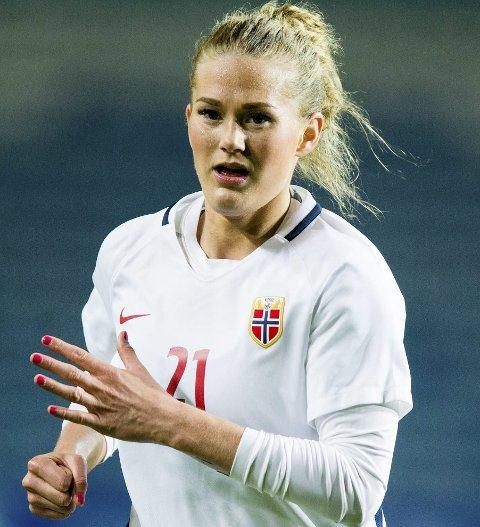KLAR: Lisa-Marie Karlseng Utland spiller mer EM-kvalik.