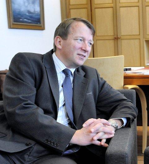 VIL BLI NÆRINGSSJEF: Harald Gaupen fra Larvik er én av søkerne.