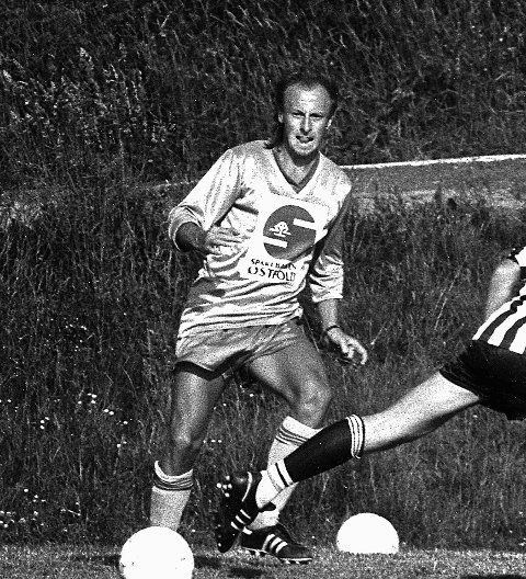 BACK: Rolf Carsten «Roffen» Hagstrøm var en meget god venstreback i Greåker IF på 80- og 90-tallet.
