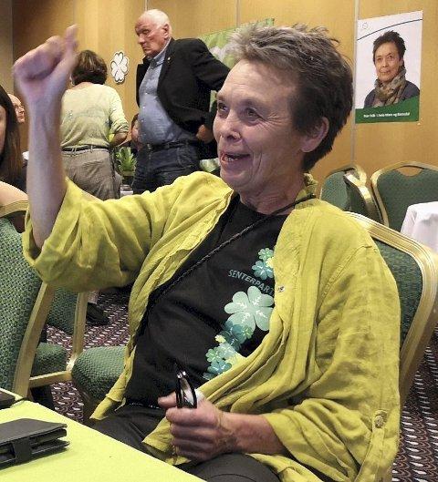 Klar for opposisjon: Kristin Sørheim (Sp) har avfunnet seg med å tilbringe de neste fire årene på fylkestinget i opposisjon, til tross for å ha blitt valgets store vinner.Foto: Tidens Krav