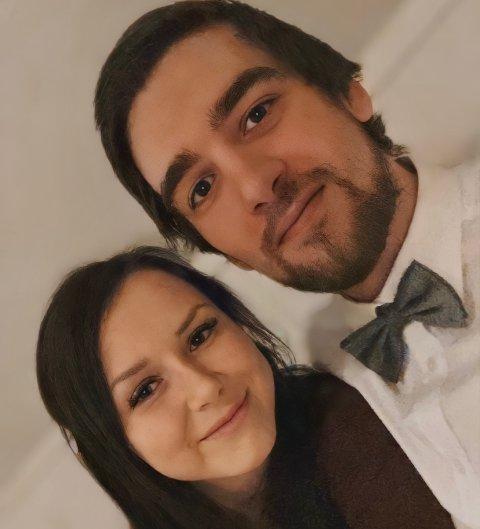 FANT KVARANDRE: Tamika Steinsvik og Ole Morten Sundal fant kvarandre i koronaåret.