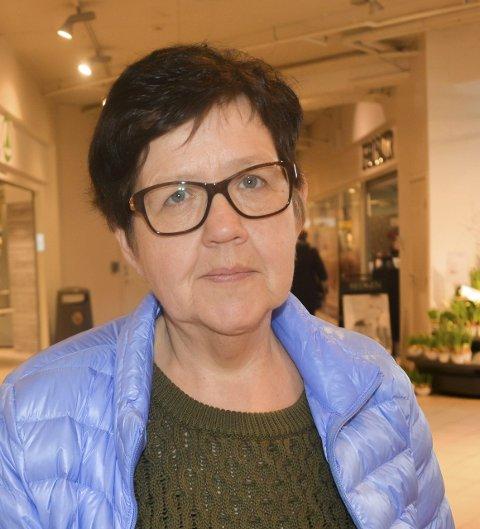 Anne Berit Eriksrud, Jaren: Jeg synes at de burde pynte den opp med blomster og planter og at den i hvert fall ikke bør være en parkeringsplass.