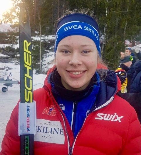 NY HVERDAG: Svea-jenta Anna Heggen forteller om en ny hverdag etter flytting til LIllehammer. Helga ble spekket med toppresultater.