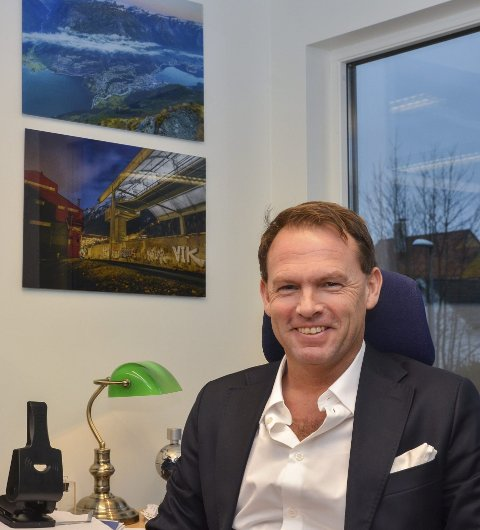 Har startet for seg selv: Kai-Inge Gavle på sitt nye kontor i Bergen. Foto: Ernst Olsen