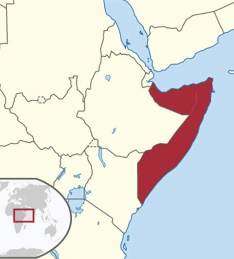 Somalia: Her på Afrikas horn sitter noen og utgir seg for å ringe med Aasgårds telefon.