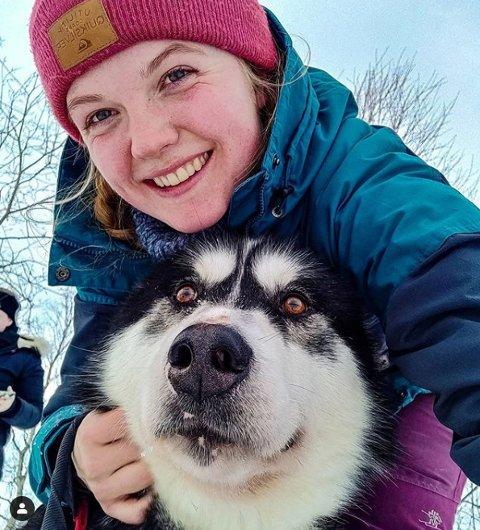 TEAM: Erle og Gripp har kost seg på skitur.