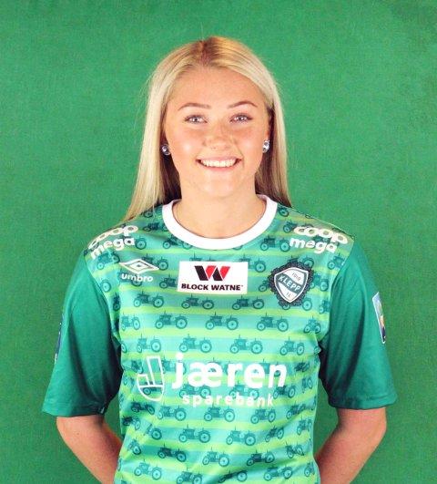Madeleine Hille Mellemstrand frå Bjerkreim har i haust sikra seg både sølv i eliteserien med seniorlaget til Klepp, og NM-gull etter å ha vunne cupfinalen med J19-laget.