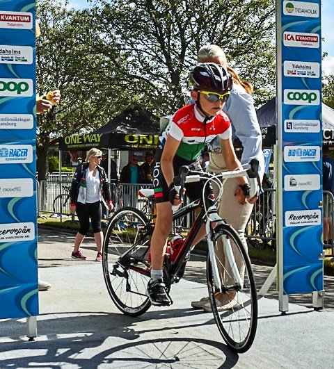 REKRUTT: Eirik Johan Kristensen er blant de yngste av de 15 rytterne fra HOC som deltar i U6-rittet i Sverige.