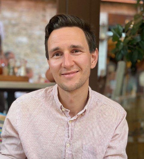 HELT I TOPPEN: Mats Tristan Tjemsland havnet på topp 10 lista i E24s kåring av «årets økonomistjerne.