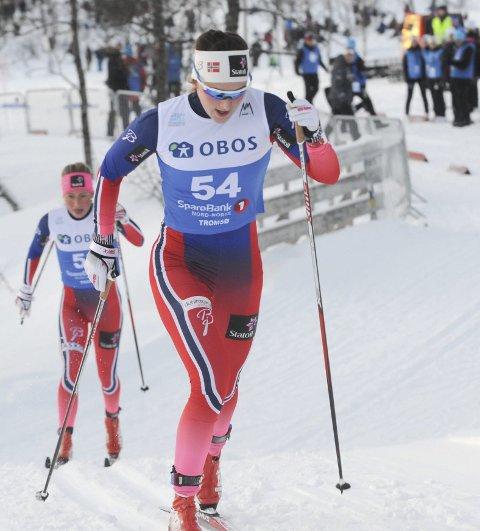 LANDSLAG: Barbro Kvåle fra Brandbu og Lillehammer Skiklub.