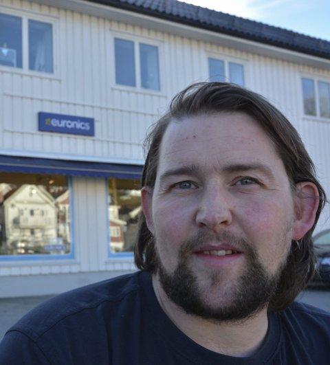 Riktig valg: Morten Thoresen hos Euronics forteller at alt nå skal samles i sentrum.