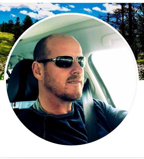FØR: Før hadde Thomas Breen dette profilbildet på Facebook.
