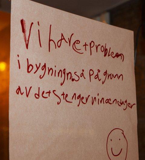 STENGT: – Her synes jeg kommunen eller kommunelegen skal gi innehaver en liten julegave, skriver Per M. Haakenstad.