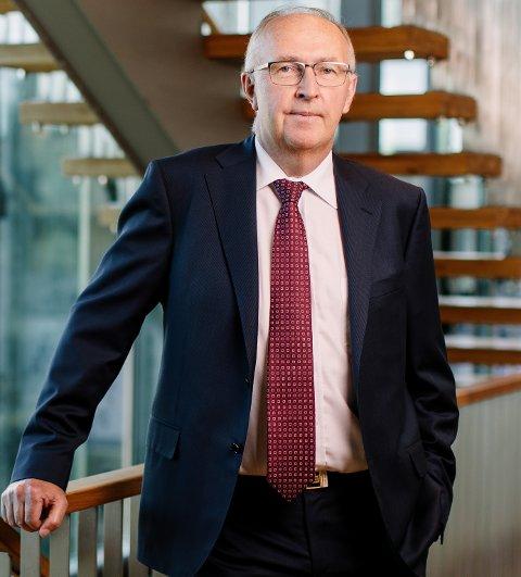 Arvid Moss er styreleder og president i NHO.