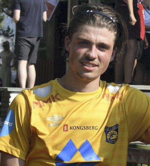 Sander Lille-Løvø blir værende i Brattvåg. Foto: Anders Tøsse