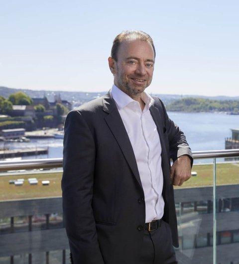 Styreleder: Morten Henriksen fra Vegårshei jobber som konserndirektør i Arendal Fossekompani.