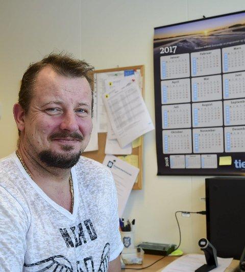 Venter på søkere: Helse- og omsorgsjef Petter Tindvik.