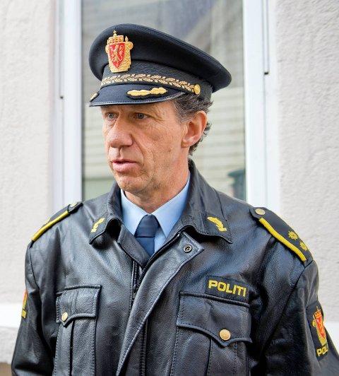 Knut Ellertsen er leder for tyveri- og brannavsnittet ved Bergen sentrum politistasjon.