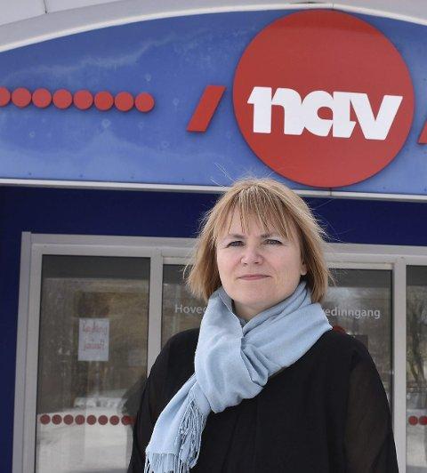 Bekymret: Cathrine Stavnes i NAV Nordland sier hun er spesielt bekymret for de yngste som ikke får innpass i arbeidslivet.