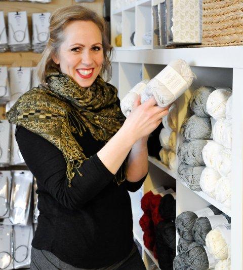 Martine Greftegreff tok steget, og forvandlet utestua til butikk.