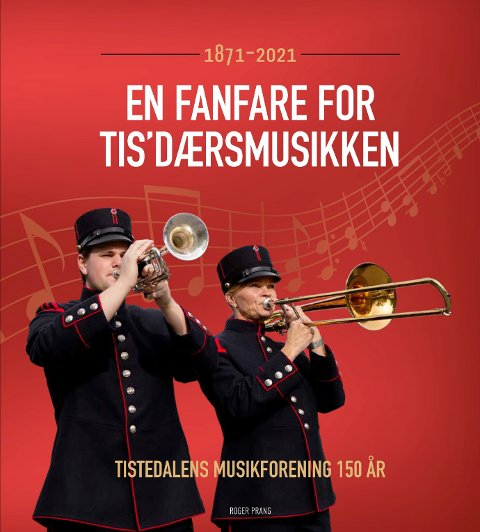 Tistedalens Musikkforening bokomslag