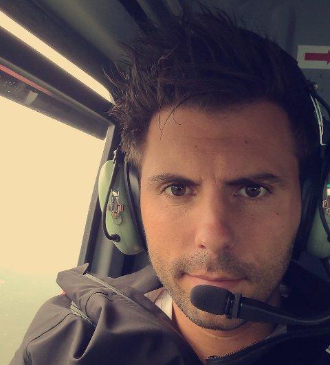 Helikopterpilot Knut Inge Eigestad.