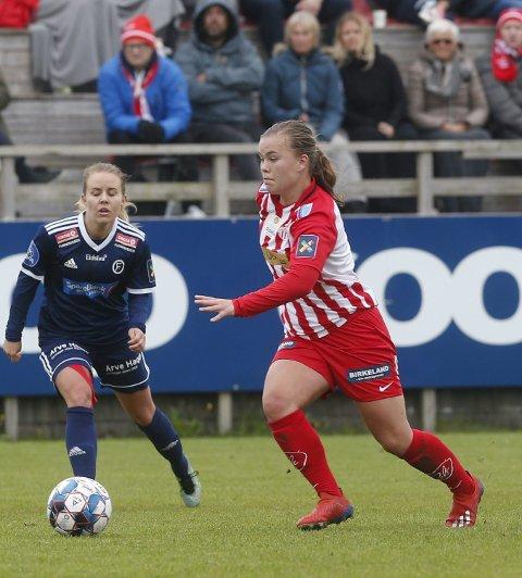 PÅ STADION: Neste sesong blir Olaug Tvedten og Avaldsnes å se på Stadion, i hvert fall i fire kamper.