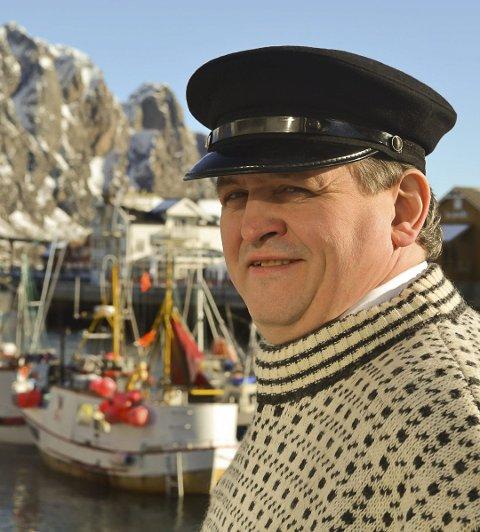 Fornøyd: - Bare det å være blant topp tre er et stort klapp på skuldra, sier ordfører i Vågan kommune, Eivind Holst.