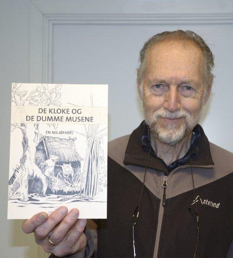 Sigmund Hågvar er ute med ny bok, en miljøfabel for barn.