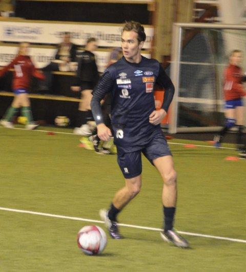 KAMPER: Joachim Olufsen, Ranheim, møter Östersund i første treningskamp.