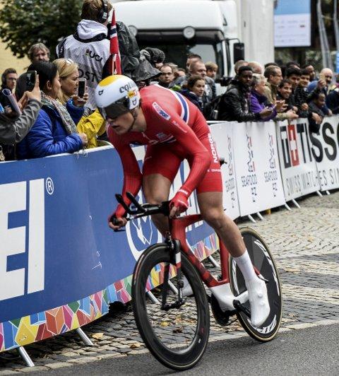 HELT TIL TOPPS: Søren Wærenskjold kjørte solide etapper og vant sammenlagt i det tyske firedagersrittet Saarland Trofeo.