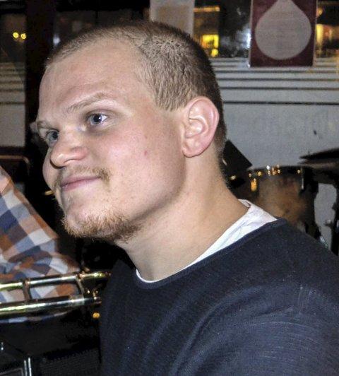 Anders Gleditsch under en tidligere konsert på Draaben. Foto: Paal Even Nygaard