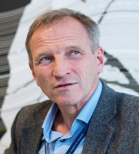 Administrerende irektør ved Haukeland Sykehus er Eivind Hansen.