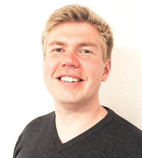 Ordførerkandidat for Narvik SV, Vegard Lind-Jæger