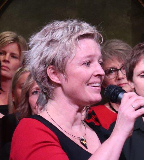 Camilla Friis Bergum rørte publikum med Et lys mot mørketida